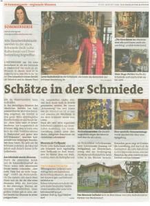 Bericht Zeitung Museum 082014